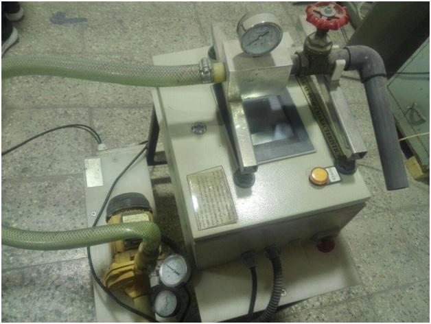 دستگاه بررسی منحنی مشخصه پمپ گریز از مرکز (با دور متغیر)